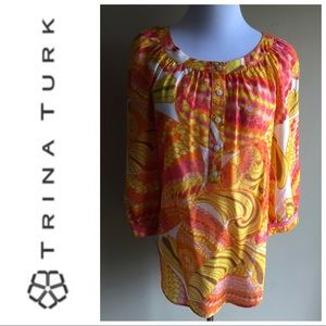 Trina Turk for Banana Republic blouse